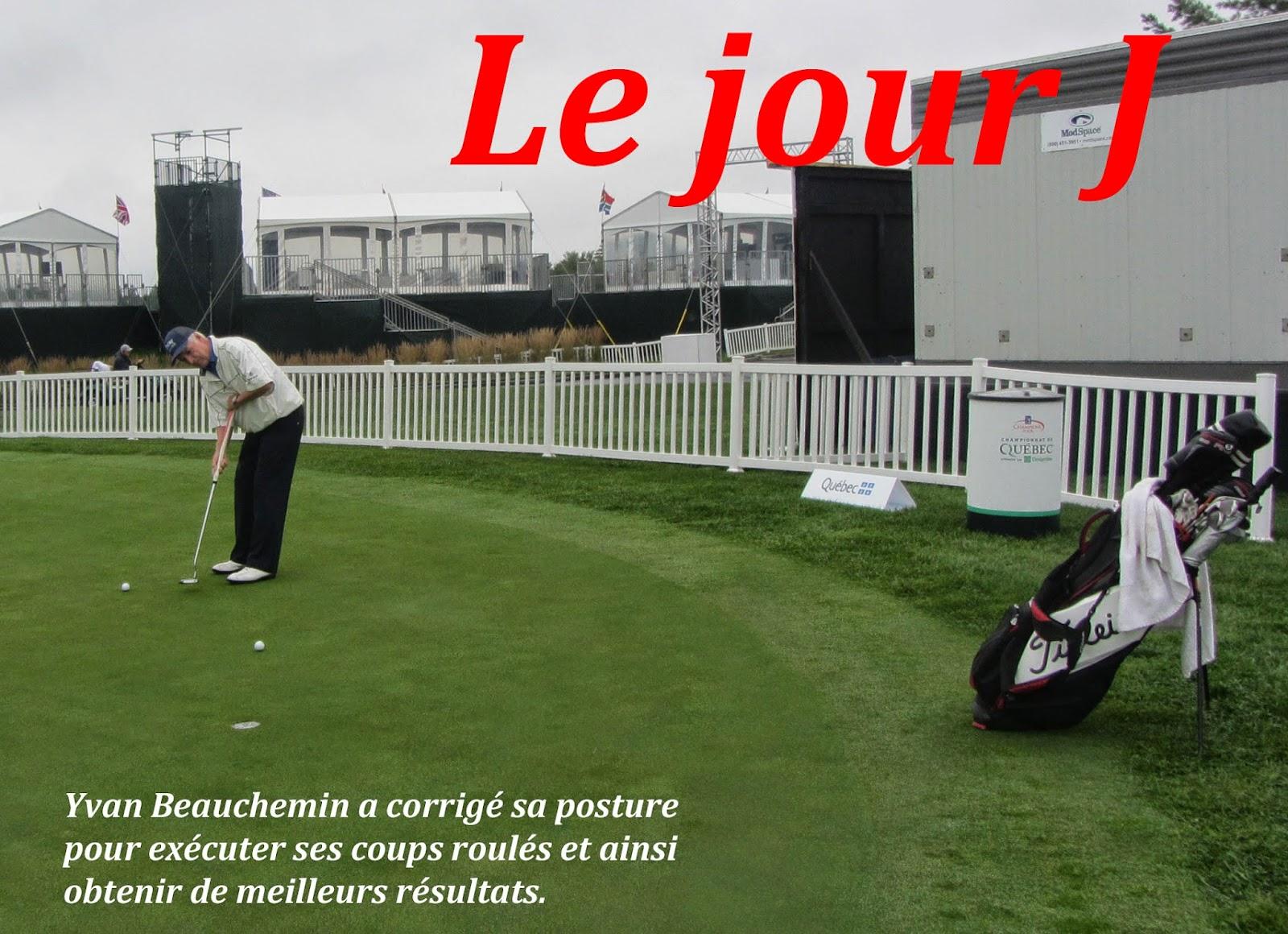 Championnat de Québec 1, Le jour J