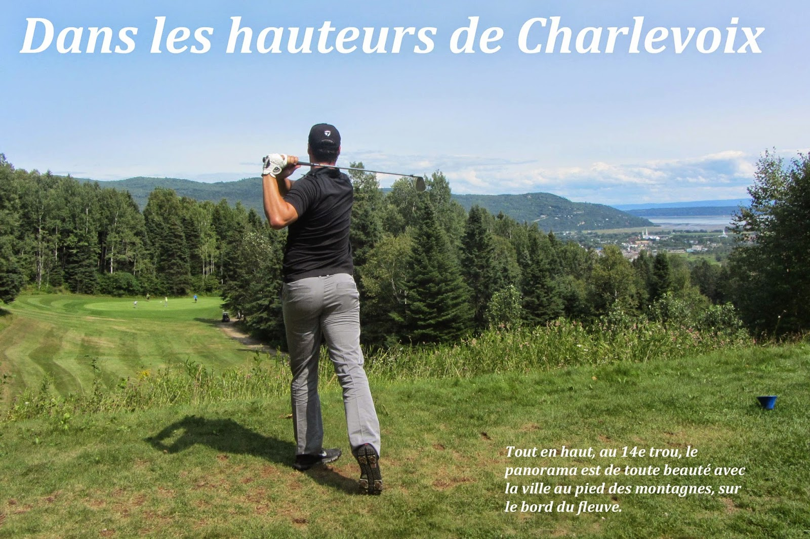 Dans les hauteurs de Charlevoix, Le Loup