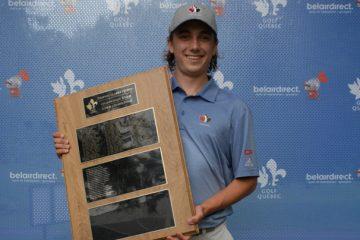 Félix Bouchard, nouveau champion junior québécois